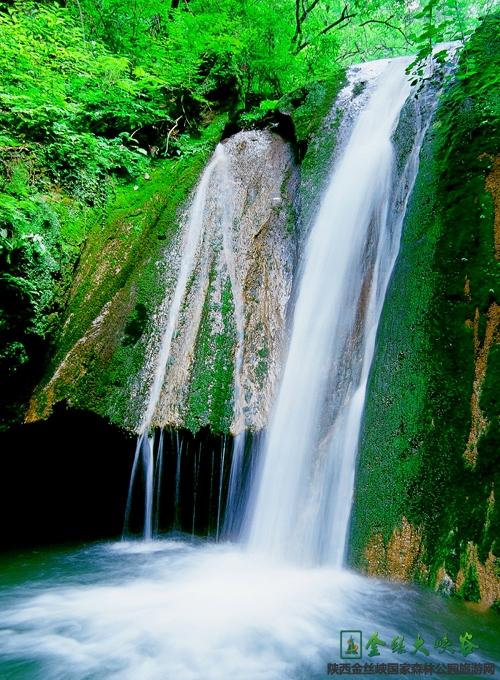 商洛金丝大峡谷(图片来源于金丝峡官网)